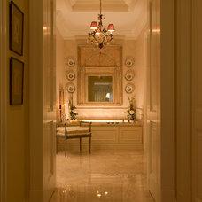 Traditional Bathroom by Lindy Thomas Interiors