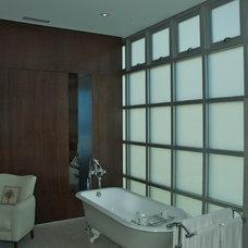 Contemporary Bathroom by Prestige Builders