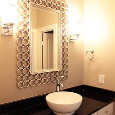 Modern Bathroom by Tab Premium Built Homes