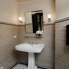 Traditional Bathroom by FRICANO CONSTRUCTION CO