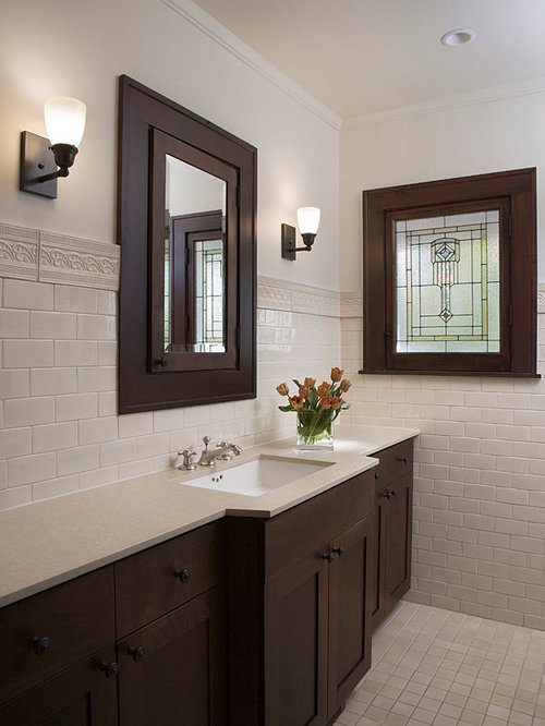 Dark Bathroom Cabinets | Houzz