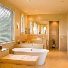 Contemporary Bathroom by LaRue Architects