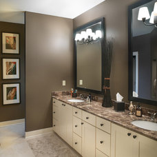 Traditional Bathroom by Andrew Melaragno