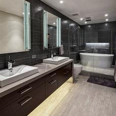 Contemporary Bathroom by TZS Design