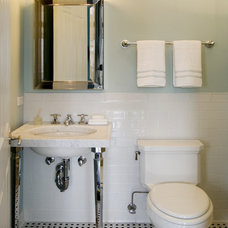 Traditional Bathroom by Claudia Martin, ASID