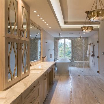 River Oaks | Houston, Texas | Tranquil Spa Master Bathroom Remodel