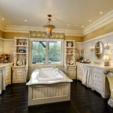 Traditional Bathroom by Gunson Custom Mountain Architects