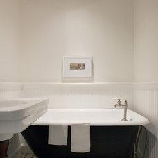 Farmhouse Bathroom by Sullivan Building & Design Group