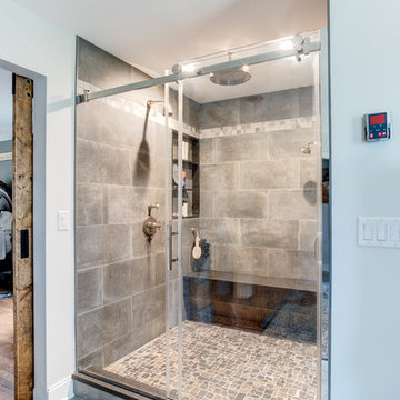 River Rocks this shower !
