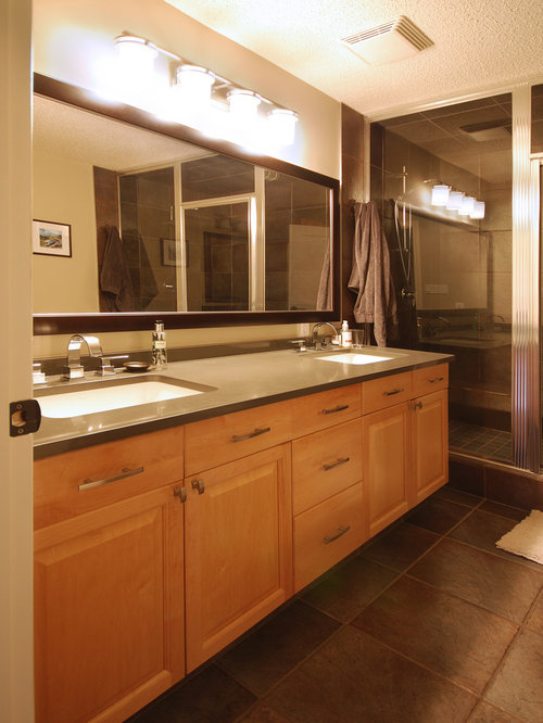 Edmonton bathroom design ideas renovations photos with for Kitchen cabinets 99 street edmonton