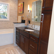 Modern Bathroom by Counter Dimensions