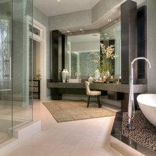 Contemporary Bathroom by Thompson Custom Homes