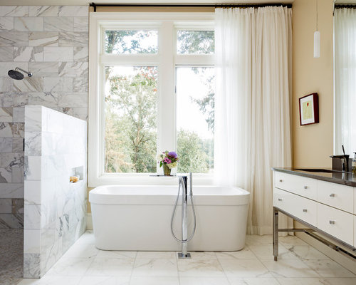 room without walls showers without walls houzz