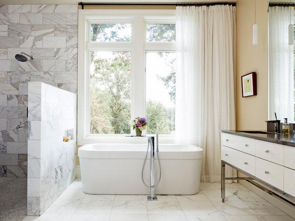 Contemporary Bathroom by Jenni Leasia Design