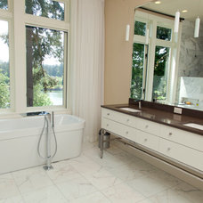 Contemporary Bathroom by Jenni Leasia Design