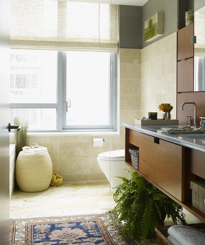 Eclectic Bathroom by Thom Filicia Inc.