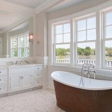 Traditional Bathroom by Daniel Conlon Architects