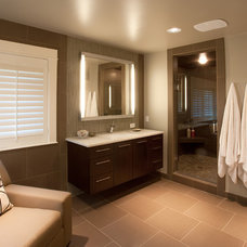 Contemporary Bathroom by Gina Roberts-Wagner
