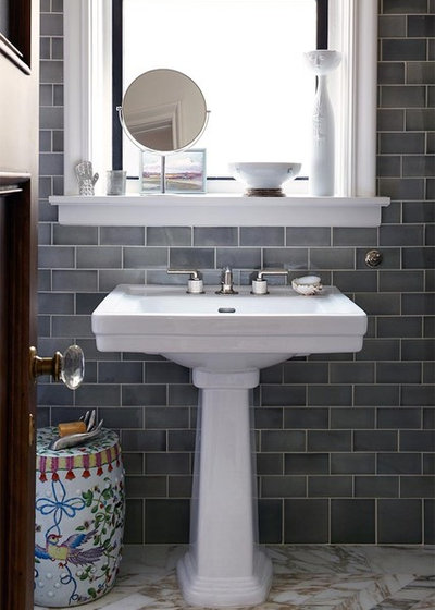 Transitional Bathroom by red.