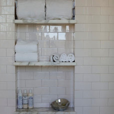 Traditional Bathroom by Sarah Tombaugh Architect
