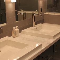 Contemporary Bathroom by Key Elements Construction