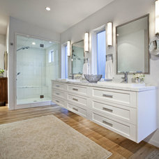 Contemporary Bathroom by Lanthia Hogg Designs