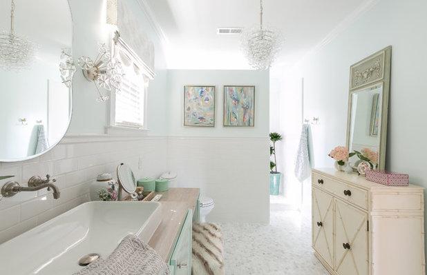 Shabby-chic Style Bathroom by Domain Interiors & Design