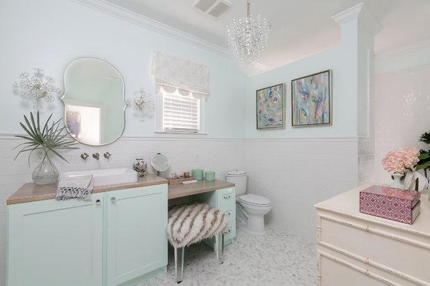 Farmhouse Bathroom by Domain Interiors & Design