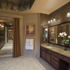 Contemporary Bathroom by Ellicott Interiors, LLC