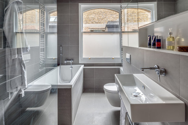 Contemporary Bathroom by Paper House Project