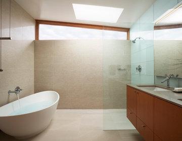 Road's End Beach House - Master Bath