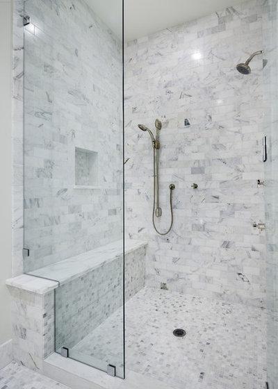 Contemporary Bathroom by Shoberg Custom Homes