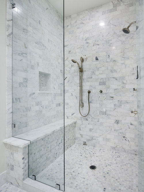 SaveEmail. Houzz   Built In Shower Seat Design Ideas   Remodel Pictures