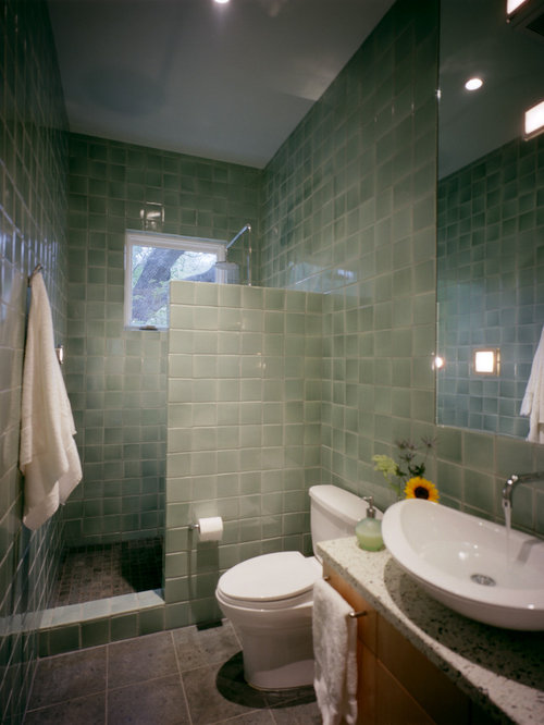 Showers without doors home design ideas pictures remodel for Master bathroom no door