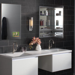 bathroom storage by Robern