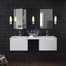 Modern Bathroom by YBath
