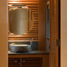 Modern Bathroom by Robert J Erdmann Design, LLC
