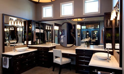 Robeson Design Master Bathroom Cabinets and Storage Solutions