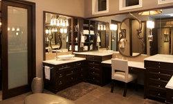 Robeson Design Master Bathroom, Custom Closet and Dressing Room