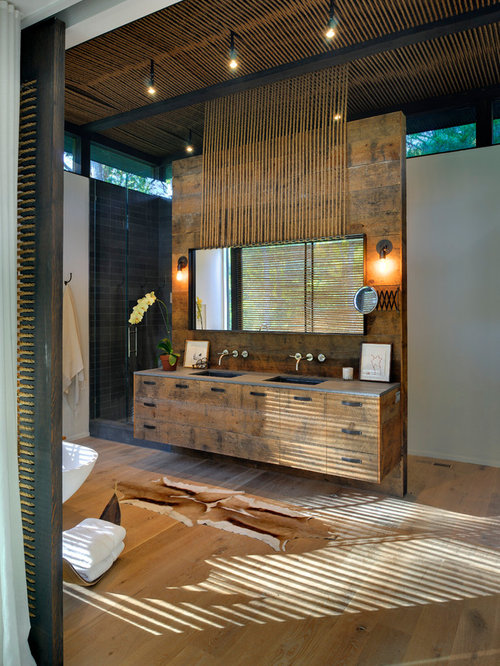 Barn Wood Vanity Ideas, Pictures, Remodel and Decor