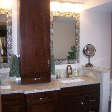 Contemporary Bathroom by Lindsey Neumann