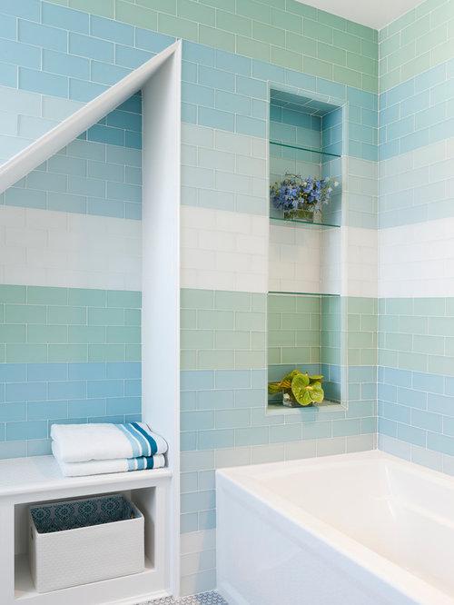 Bathroom Glass Tile Houzz