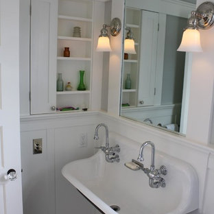 Inspiration for a timeless bathroom remodel in San Francisco