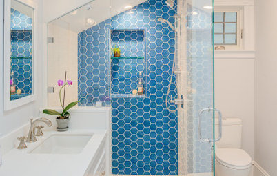 10  Eye-Catching Bathroom Accent Walls