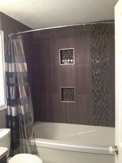 Contemporary Bathroom by Revolving Rooms Interior Design Inc.