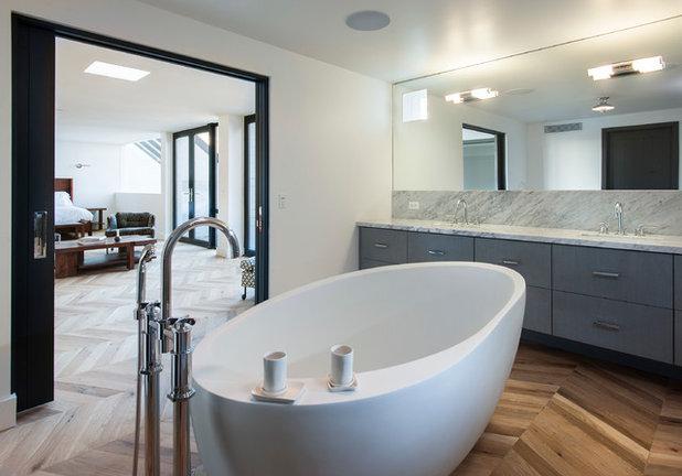 Scelti da voi si pu usare il parquet anche in bagno - Parquet in bagno ...