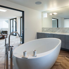 Contemporary Bathroom by C O N T E N T Architecture