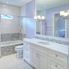 Transitional Bathroom by Rockwood Custom Homes