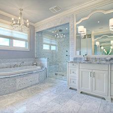 Transitional Bathroom by Rockwood Custom Homes