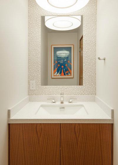 Midcentury Bathroom by Allen Construction
